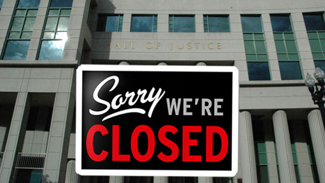 courts-closed