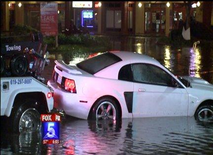 Storm Floods San Diego