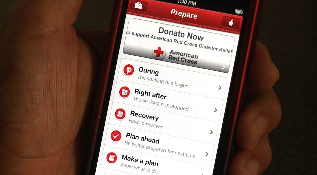 Get ready for the big one with earthquake app