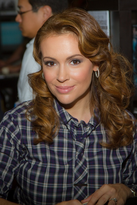 Alyssa Milano from Mistresses and Charmed