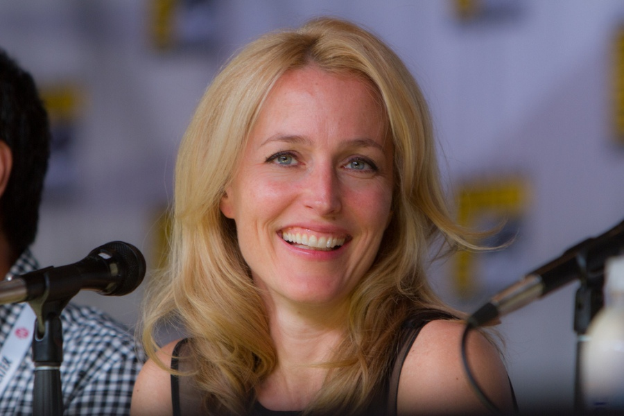 Gillian Anderson of the X-Files and Hannibal