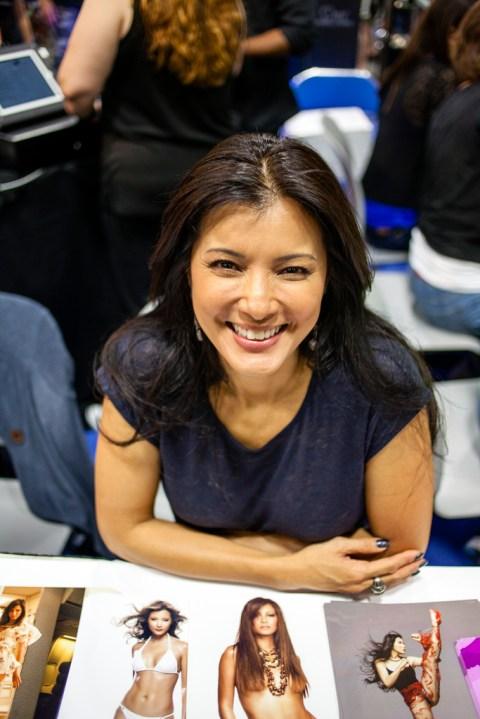 Kelly Hu by Joel Feria