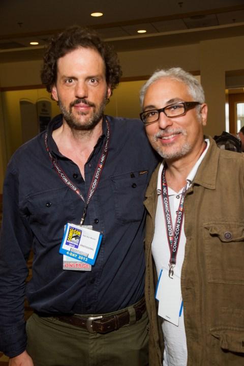 Silas Weir Mitchell (left) of Grimm
