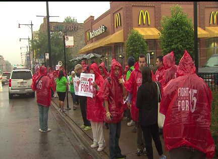 Fast Food Workers Upset Over Minumum Wage, Ready For A One Day Strike