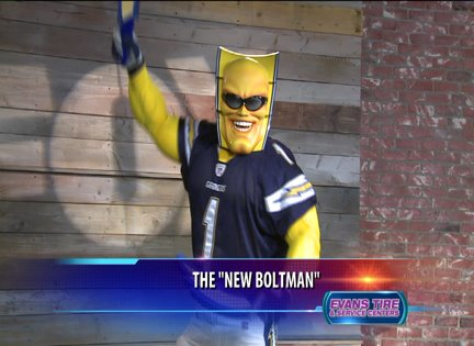 Boltman Returns With A New Look