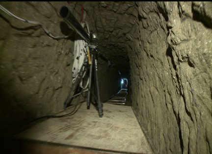 A Tour Of The Newly Discovered Drug Tunnel