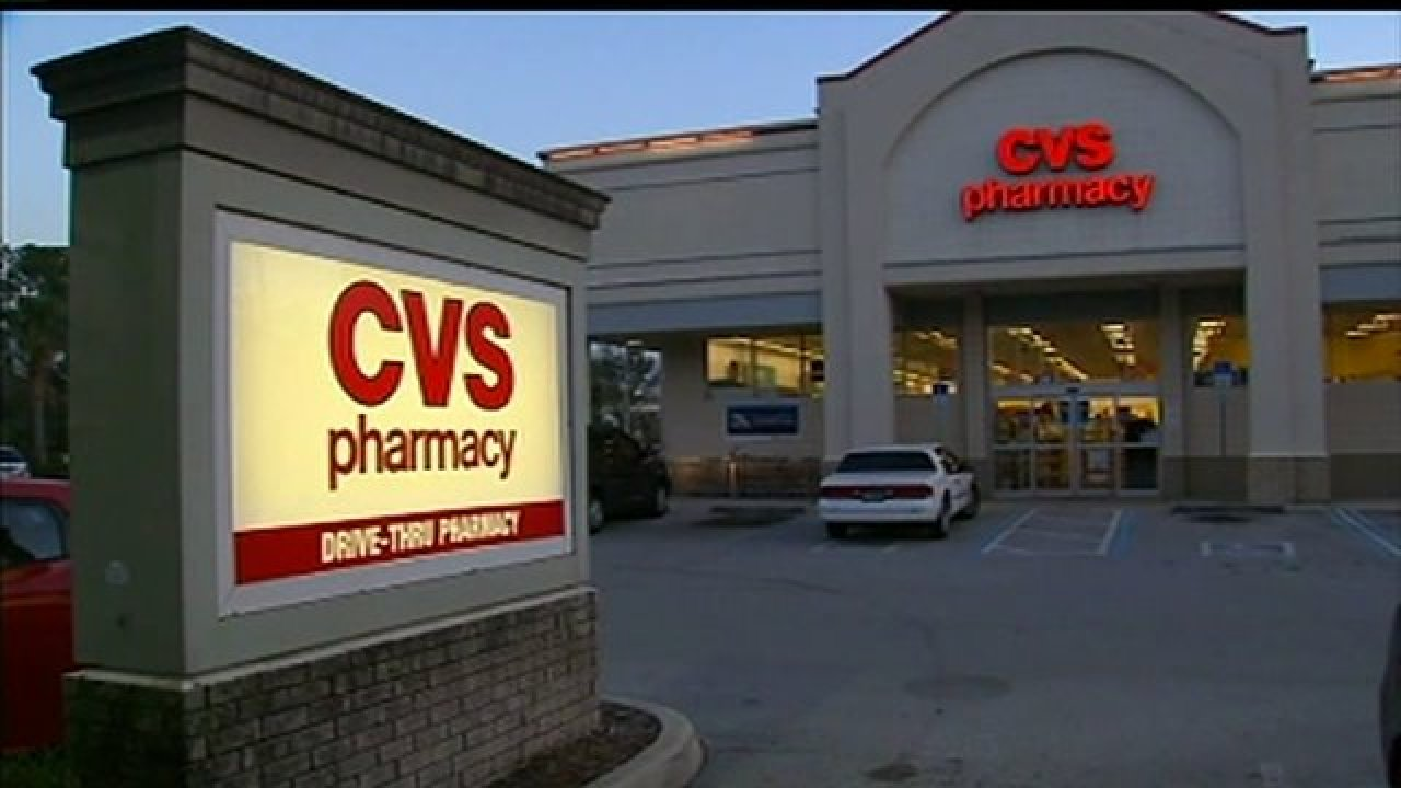 Robber jumps over counter, demands pills at pharmacy
