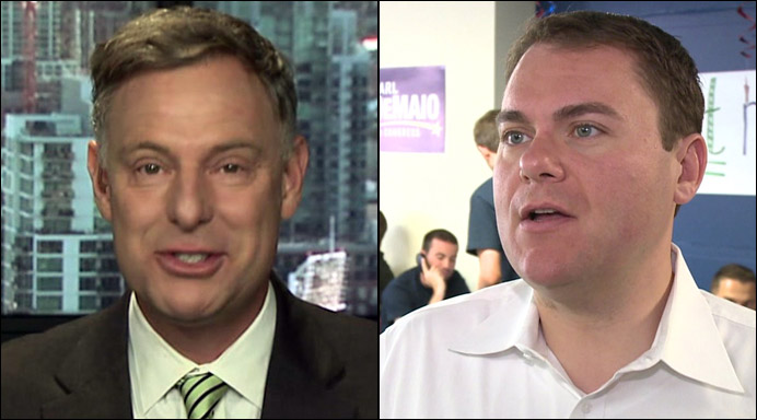 Scott Peters and Carl DeMaio