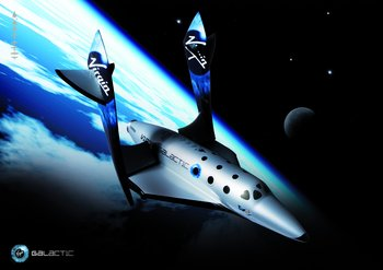 Space tourism blasts off