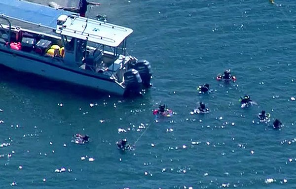 Divers search El Capitan Reservoir