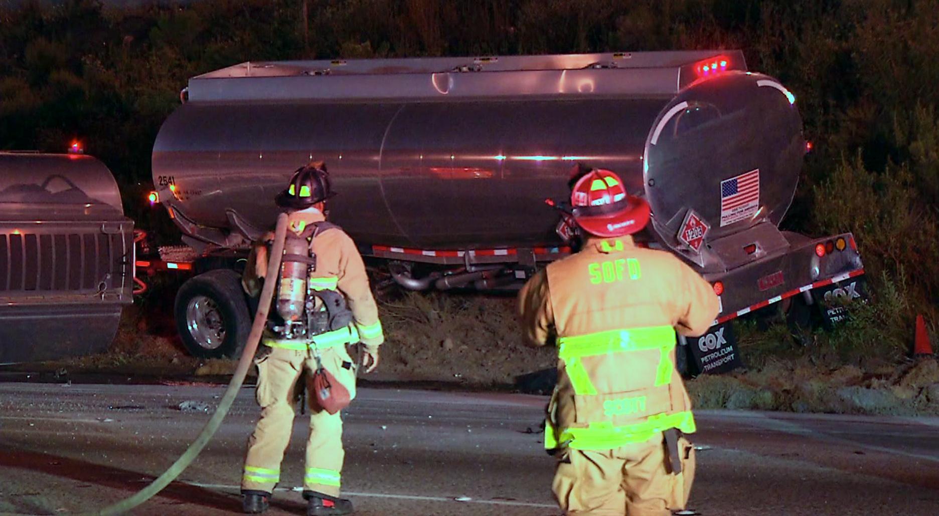 I-15 Fuel Tanker Spill
