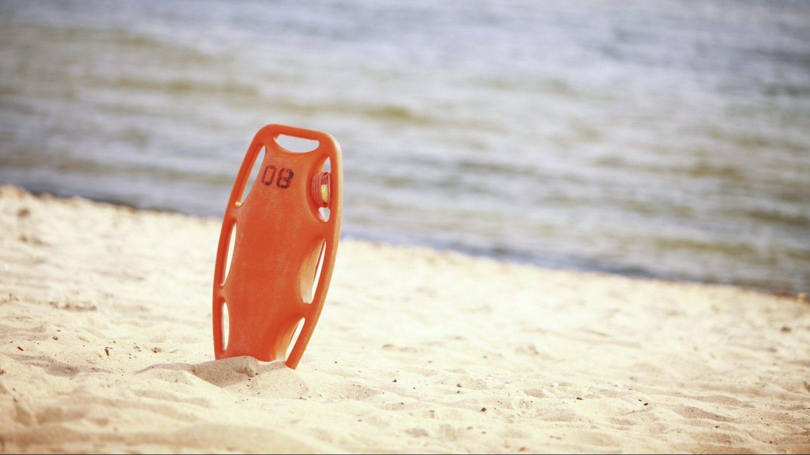 Lifeguard rescue buoy