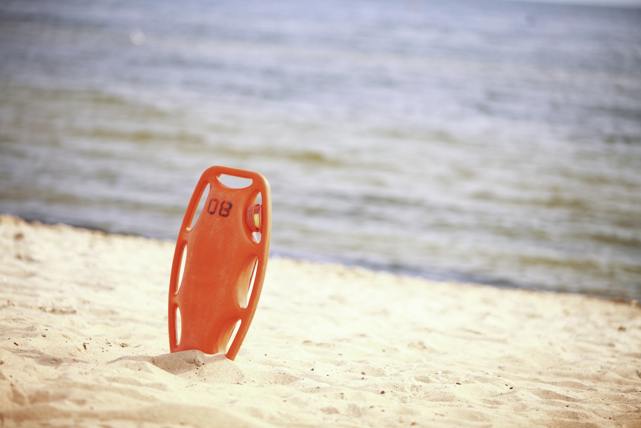Lifeguard rescue buoy