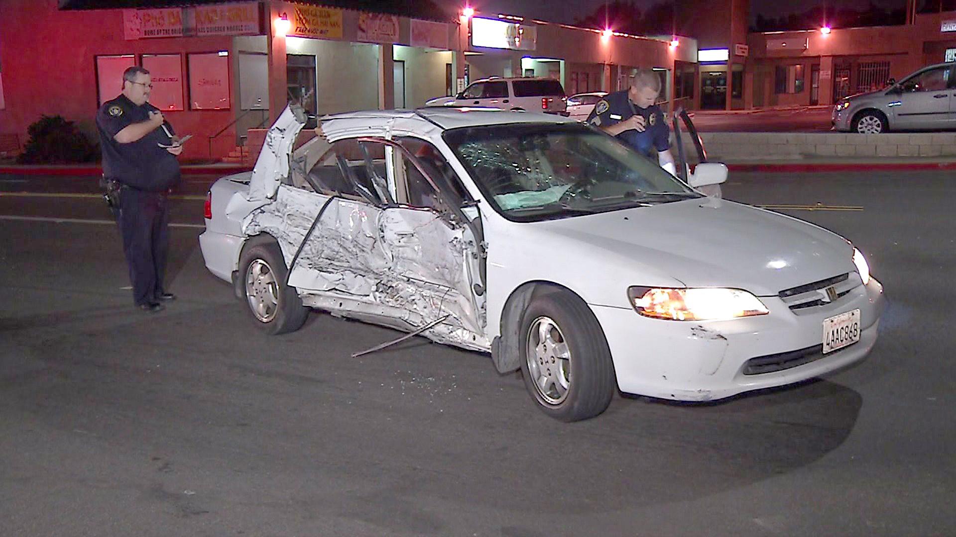 Street Race Crash in Chollas Creek