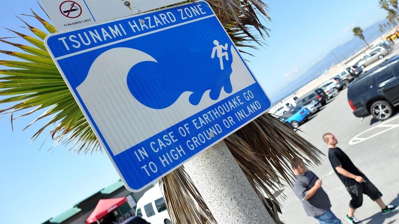 false tsunami warning triggers sirens alerts in