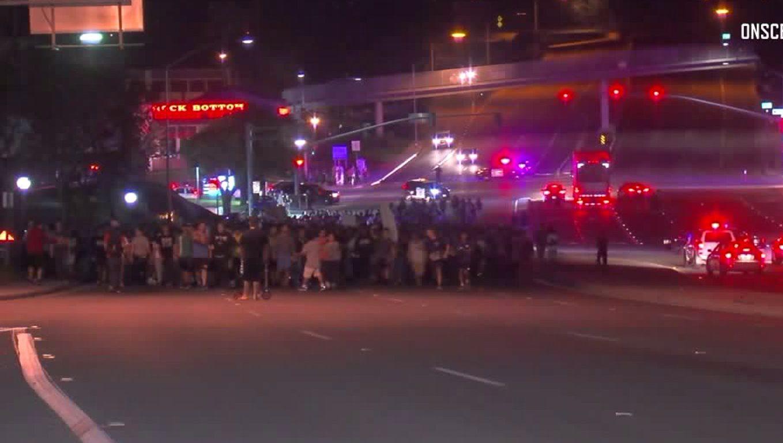 Go Back To Europe: UC Irvine Students Protest Milo