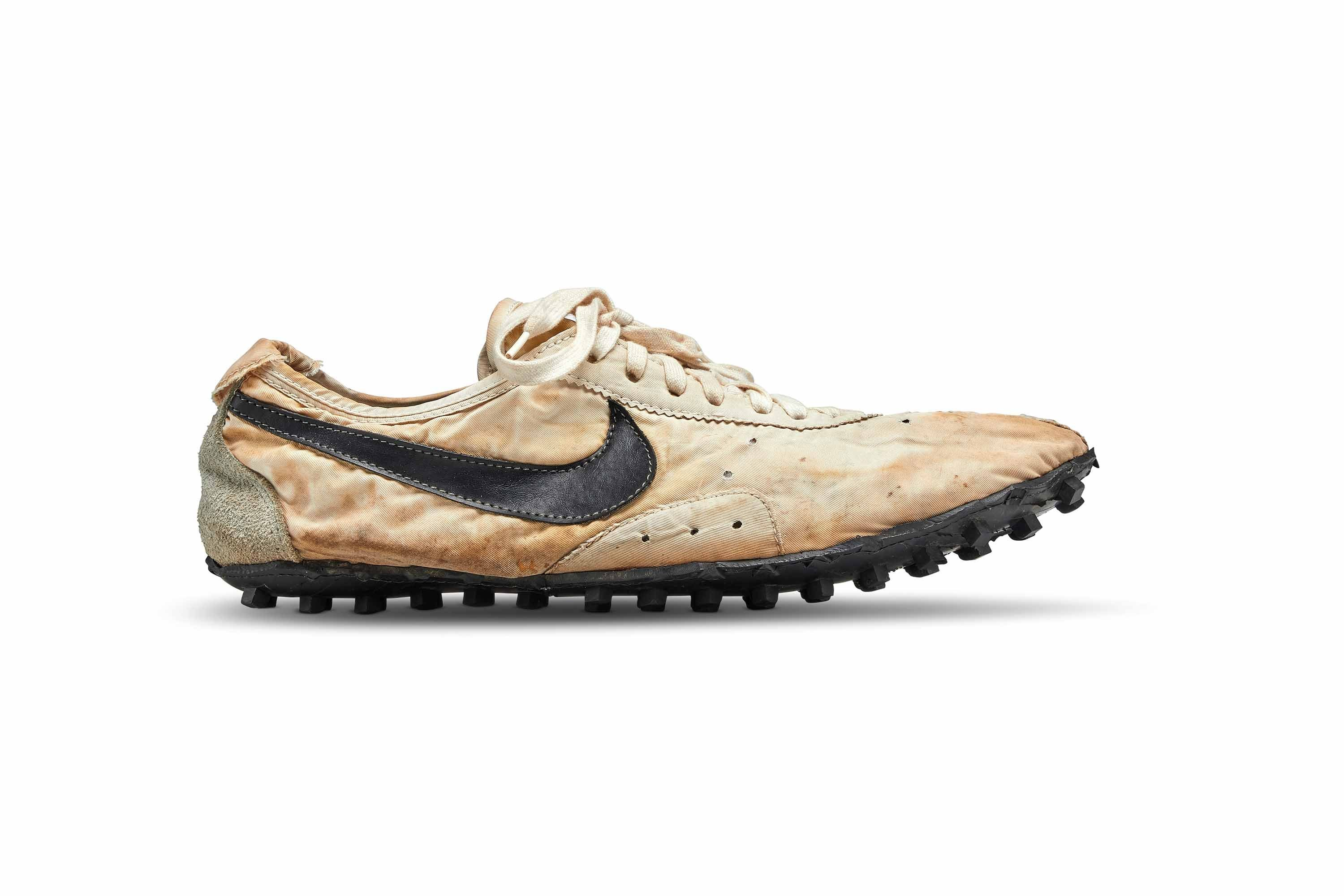 Nike's rare 'Moon Shoe' sells for $437,500, shattering