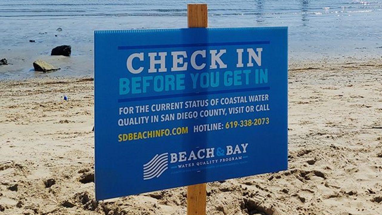Beach Advisory Issued In Chula Vista