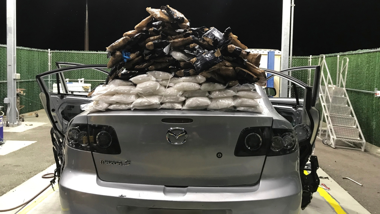 Border Patrol Agents Find Nearly $240K In Meth Stowed In