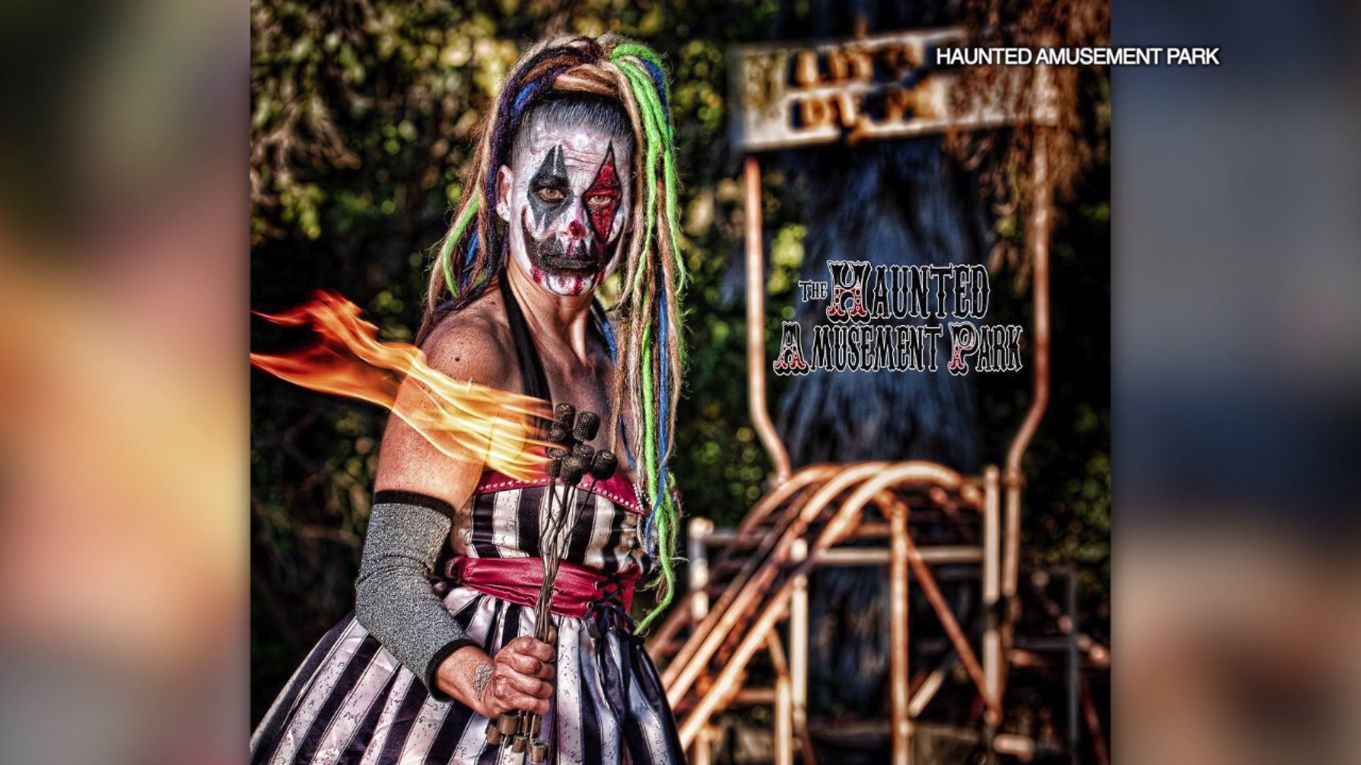 Abandoned Amusement Park Transformed Into Haunted Trail Fox 5 San Diego