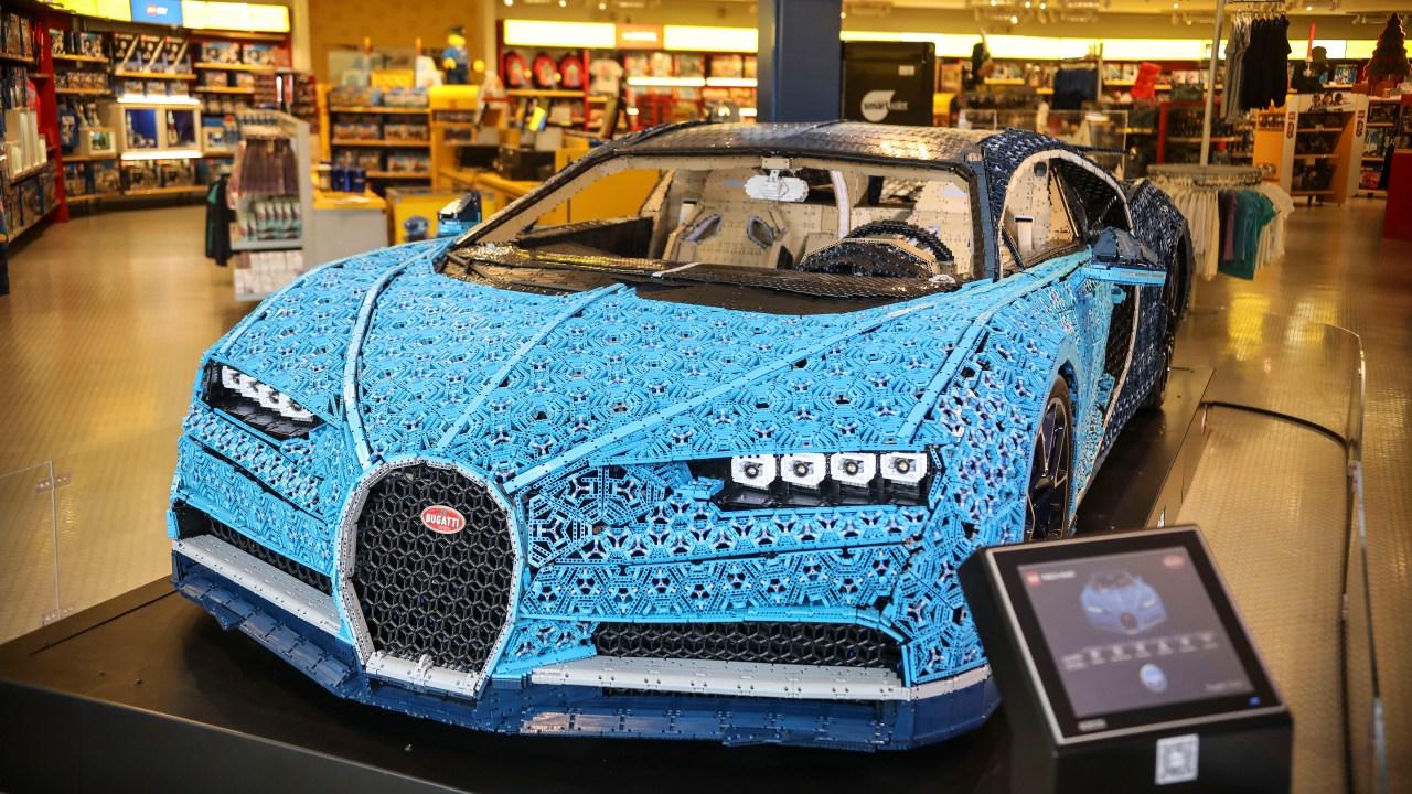 Bugatti built from Legos can reach 12 mph   FOX 5 San Diego