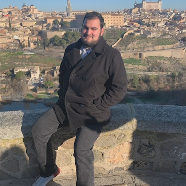 Kevin Lopez is a San Diego native attending Merrimack College in Massachusetts. Since January, he has been studying abroad in northern Spain.