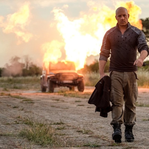 In these types of movies, the hero calmly walks away during explosions.