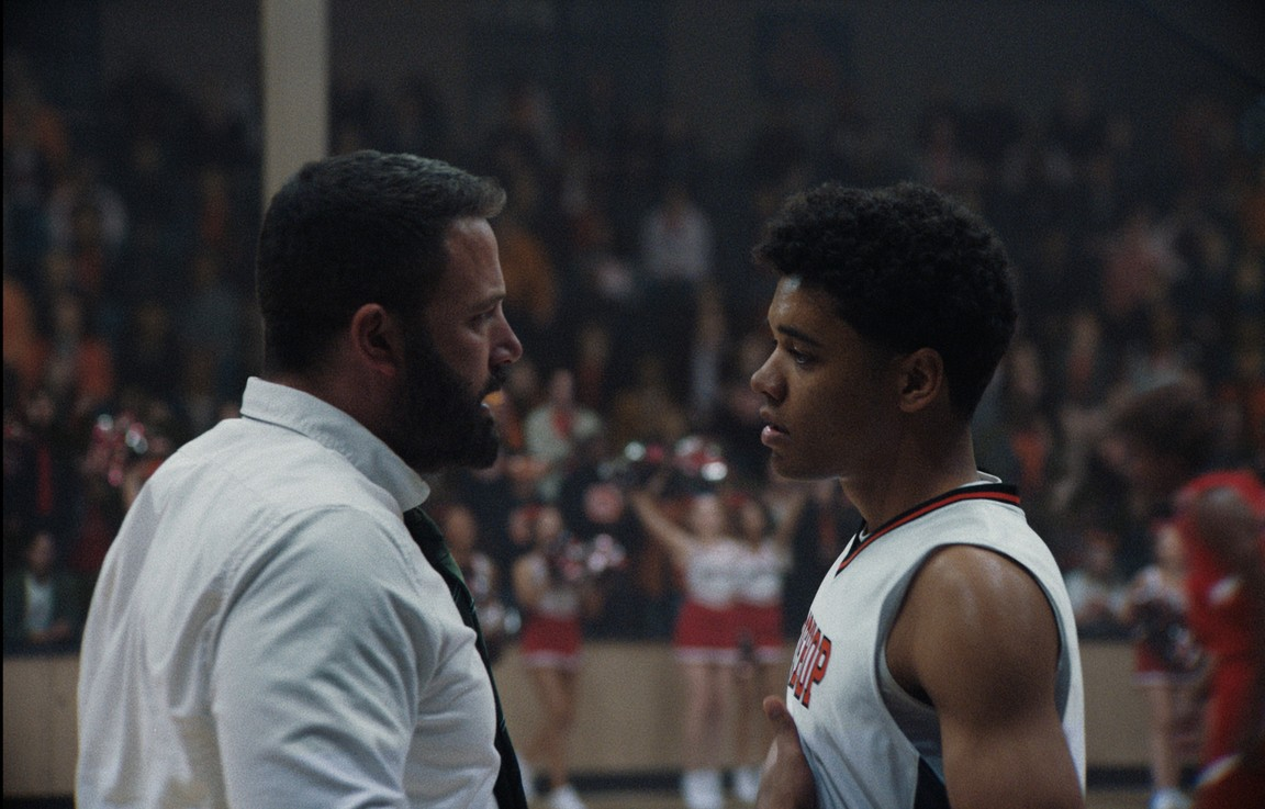 Ben Affleck tries coaching difficult players.