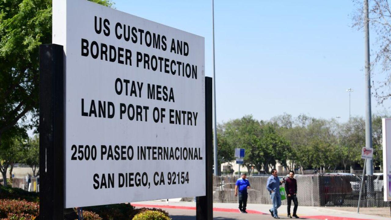 Renovations to begin next week at Otay Mesa border crossing