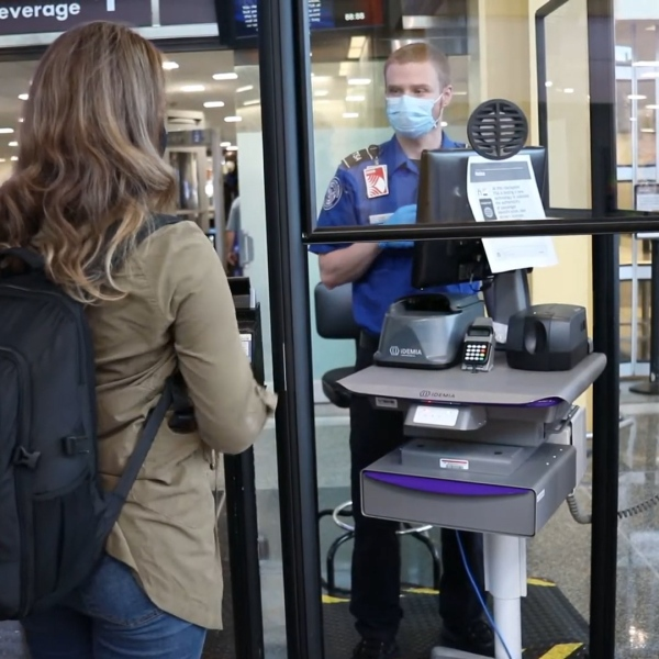 Clear acrylic barriers have been installed at security checkpoints throughout San Diego International Airport to protect TSA security agents and passengers from COVID-19 infection, Transportation Security Administration officials said Thursday.