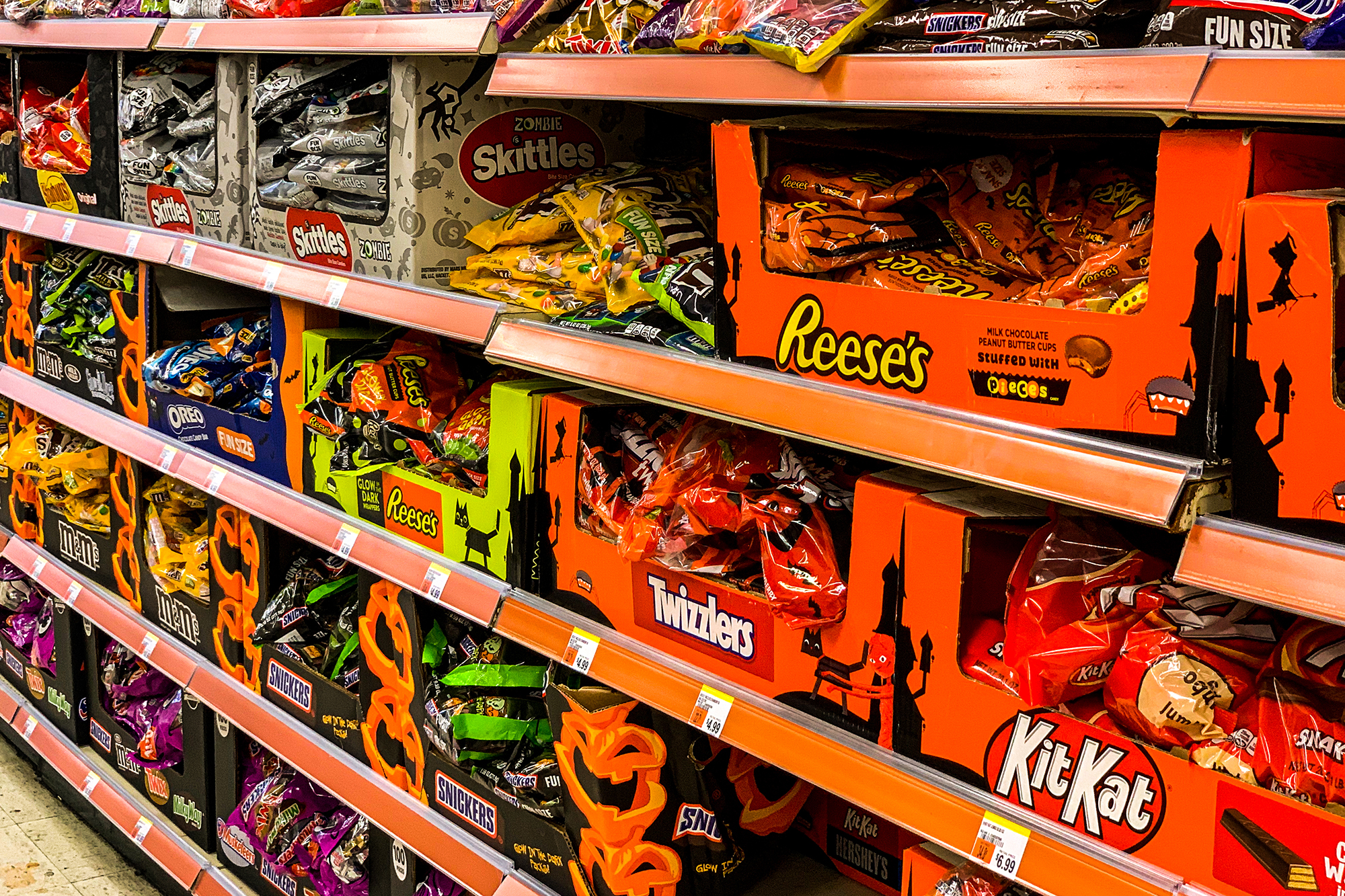 With trick-or-treating in doubt, Halloween candy is coming ...