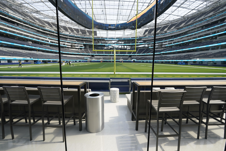 Gallery Ultramodern Sofi Stadium Ready To Welcome Nfl S Chargers Rams Fox 5 San Diego