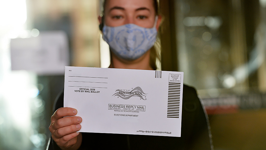 Vote by mail(Photo by JOSEPH PREZIOSO/AFP via Getty Images)