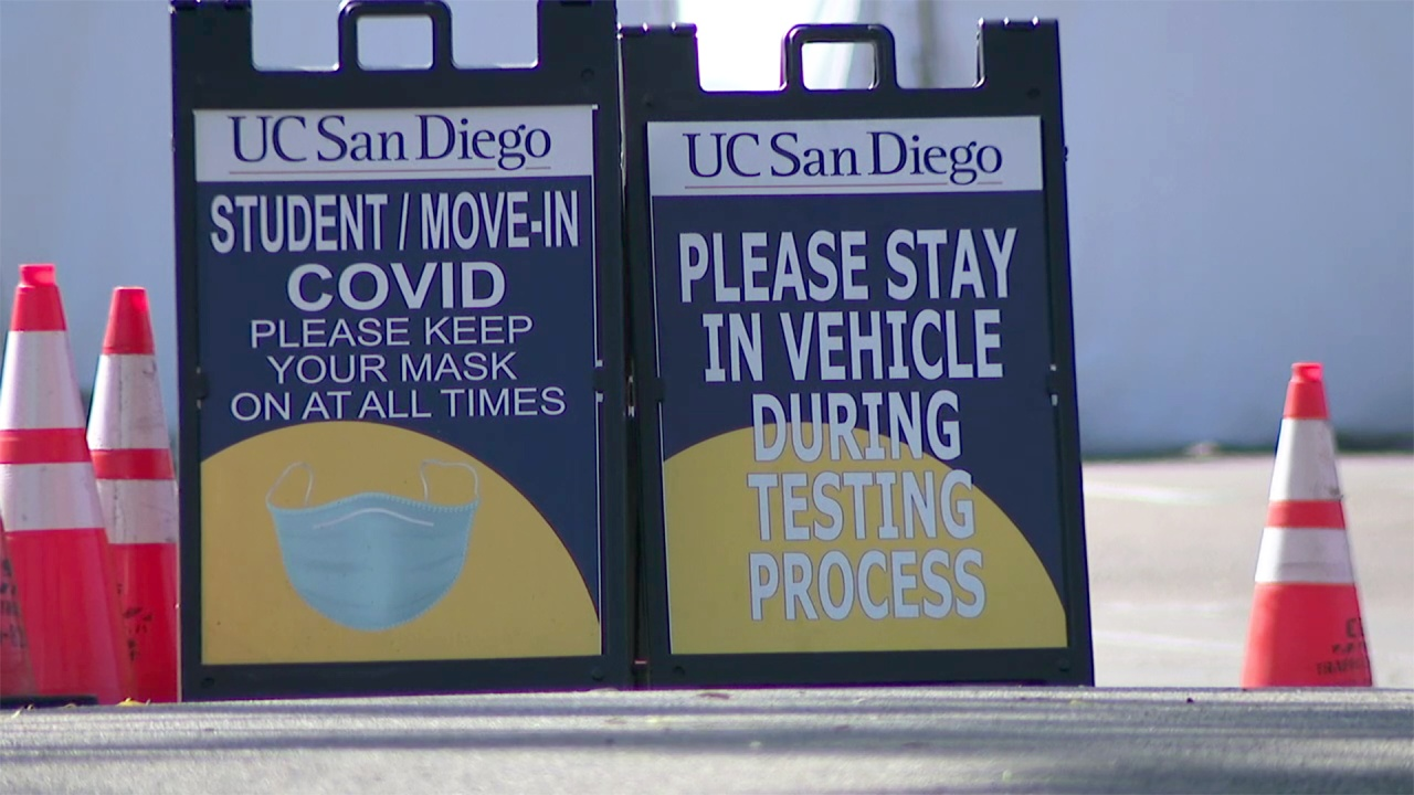 UC San Diego tests thousands of students for COVID-19 during move in