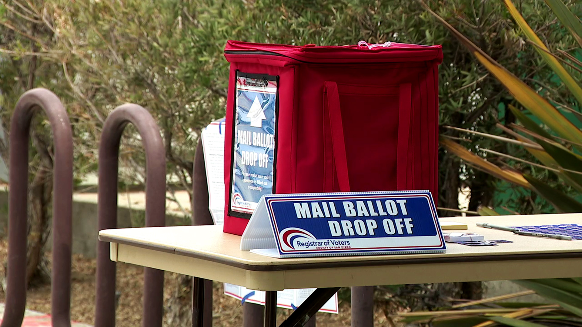 Mail Ballot Drop Boxes Placed At City Libraries Fox 5 San Diego