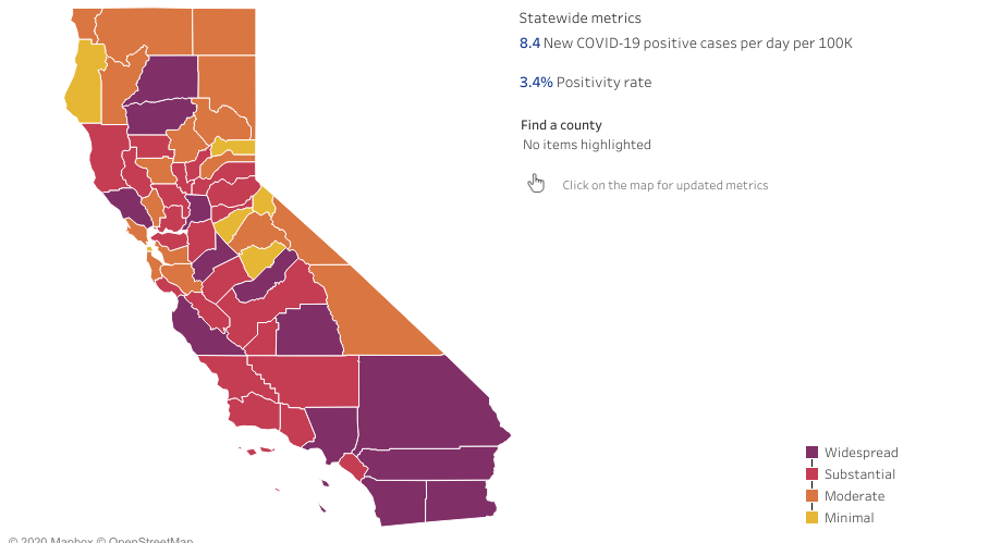 San Diego County Moves To Most Restrictive Purple Tier Fox 5 San Diego