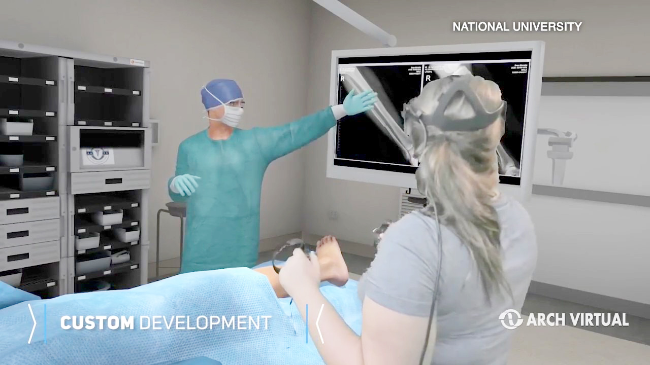 Virtual reality helps train aspiring nurses at National University